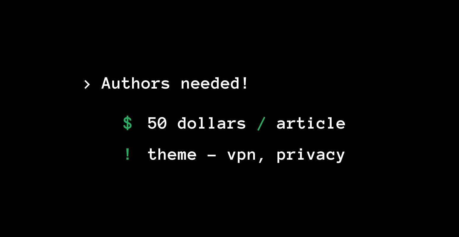 Write for Xeovo and get paid